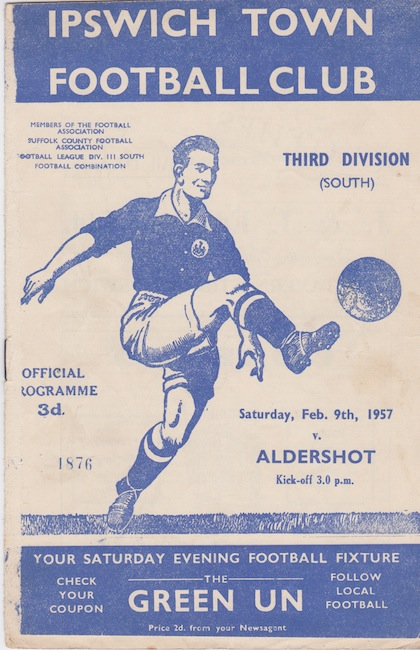 ITFC Programme from 1957